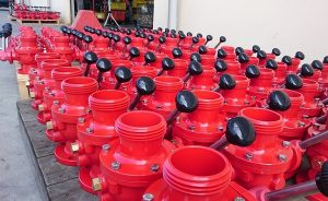 ball valve for fire truck
