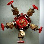 angle hose valve on FDC